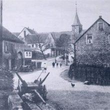 Historischer Ortskern (Postkartenaufnahme)